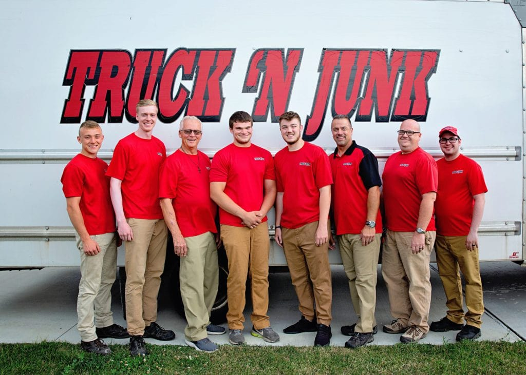 The Truck 'N Junk team in front of their truck
