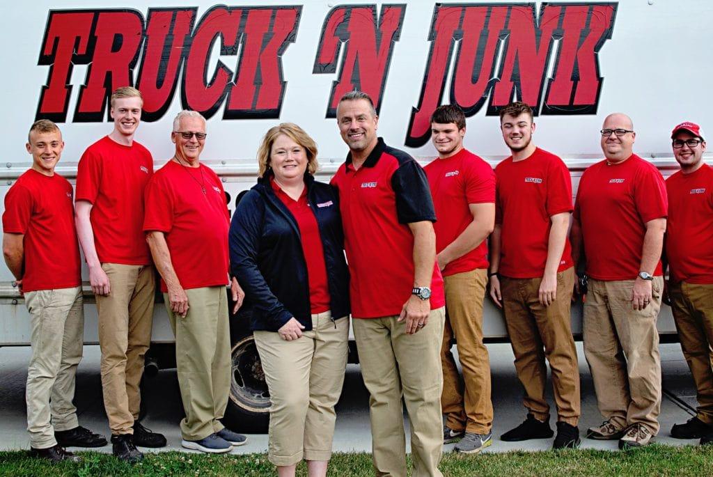 Truck 'N Junk team